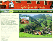 Tablet Preview of bierhaeusle-muenstertal.de